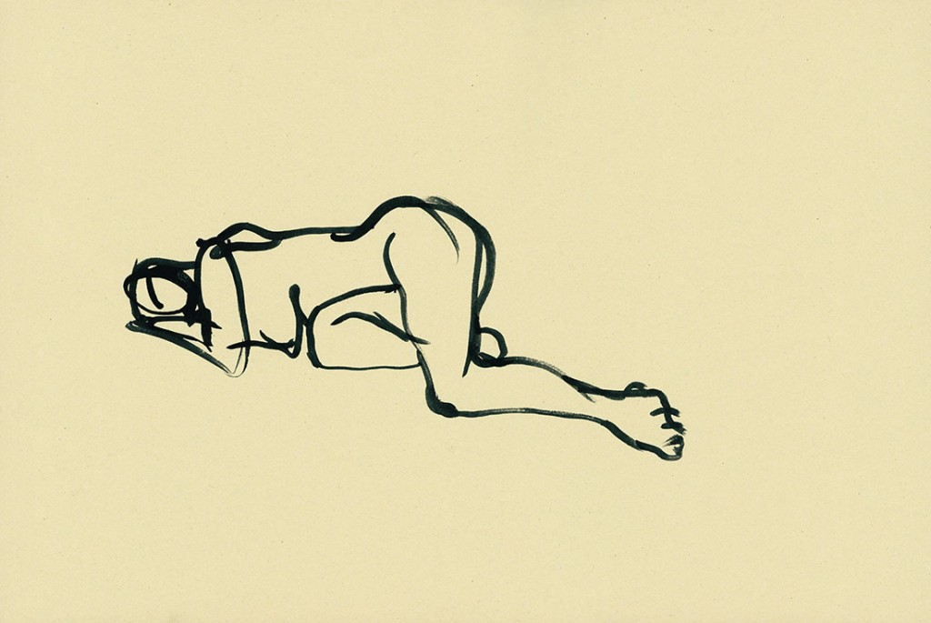 Gesture drawing No.10