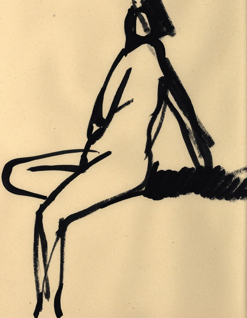 Gesture drawing No.6