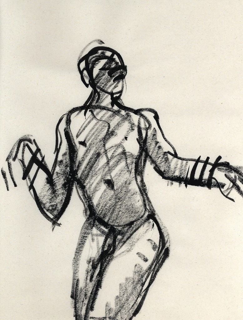 Gesture drawing No.9